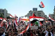 Xyri: Biểu tình ủng hộ Tổng thống Assad