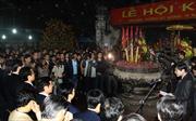 Lễ hội khai ấn đền Trần