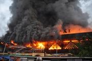 Vụ cháy chợ ở Quảng Ngãi: Hỗ trợ 5 triệu đồng/hộ bị thiệt hại