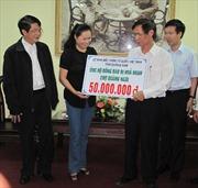 500 triệu đồng hỗ trợ tiểu thương chợ Quảng Ngãi