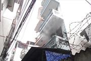Cháy lớn thiêu rụi nhà 3 tầng, một người bị thương