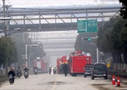 Rò rỉ khí độc tại nhà máy thép ở Trung Quốc