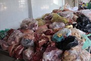 Thu giữ 3,3 tấn nội tạng động vật bốc mùi thối