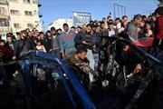 Ixraen tiếp tục không kích dải Gaza