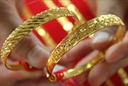 Giá vàng tăng nhẹ trên thị trường châu Á