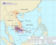 Bão số 1 thẳng hướng các tỉnh Bình Thuận- Bến Tre
