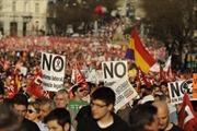 Biểu tình tại Tây Ban Nha phản đối cắt giảm chi tiêu