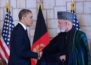 Mỹ và Ápganixtan ký thỏa thuận đối tác chiến lược