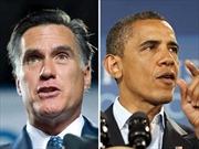 Bầu cử tổng thống Mỹ 2012: Gay cấn cuộc đua Obama - Romney