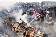 Đã có kết quả điều tra vụ tai nạn máy bay ở Nigiêria
