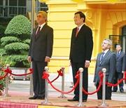 Tổng thống Cộng hòa Ácmênia thăm Việt Nam
