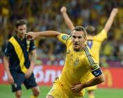EURO: 2012 Lượt trận thứ hai Bảng D Ucraina-Pháp: Gam màu của chiến thắng