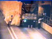 Cháy xe tải trong hầm Hải Vân, khói bốc nghi ngút