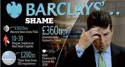 Barclays bị phạt 450 triệu USD vì thao túng lãi suất