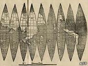 Phát hiện bản đồ châu Mỹ cổ nhất