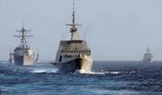 Mỹ và Singapore tập trận chung trên Biển Đông