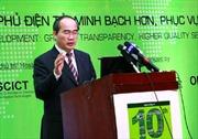 Phó Thủ tướng Nguyễn Thiện Nhân: Phát triển Chính phủ điện tử để phục vụ người dân tốt hơn