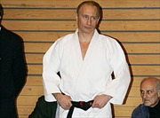 Tổng thống Putin đi London xem đấu võ judo