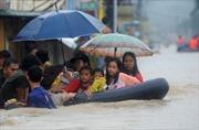 Philippines: Nửa thủ đô chìm trong nước lũ