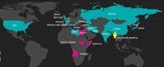 Bản đồ vũ khí hóa học trên thế giới