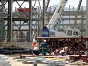 Tháng Tám trên công trường xây dựng mỏ đa kim Núi Pháo
