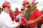 Liên doanh dầu khí Việt Nam-Venezuela đi vào sản xuất