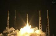 Tàu Dragon lần đầu chở hàng lên ISS