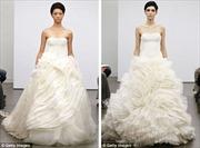 Ngắm áo cưới 'công chúa' của Vera Wang