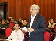 Thảo luận Dự thảo sửa đổi Hiến pháp năm 1992