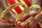Vàng vững giá trên thị trường châu Á