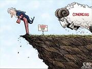 """Mỹ bế tắc trong đối phó với """"vách đá tài chính"""""""