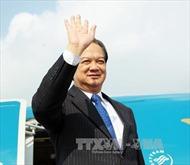 Thủ tướng Nguyễn Tấn Dũng lên đường thăm, làm việc tại châu Âu