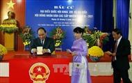 Thủ tướng bỏ phiếu bầu cử tại huyện Vĩnh Bảo, Hải Phòng