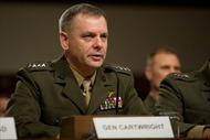 Tướng Mỹ nhận tội không trung thực vụ rò rỉ tin mật về Iran
