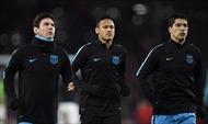 Kinh ngạc trước kỹ năng khống chế bóng của Messi và Suarez