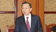 Bộ trưởng Tô Lâm gặp Bộ trưởng An ninh Quốc gia Trung Quốc