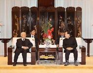 Tổng Bí thư Nguyễn Phú Trọng tiếp Bí thư Tỉnh ủy Chiết Giang
