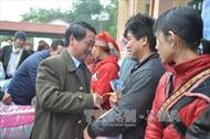 Ban Chỉ đạo Tây Bắc thăm chúc Tết tại Lào Cai