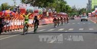 Đua xe đạp cúp Truyền hình: Nguyễn Tấn Hoài về nhất chặng 16