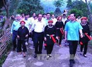 Phó Thủ tướng Trương Hòa Bình làm việc tại tỉnh Hà Giang về công tác dân tộc