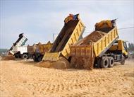 Giá cát xây dựng tại Thành phố Hồ Chí Minh tăng đột biến