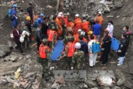 Trung Quốc: Lại sạt lở đất tại huyện Mậu, nơi còn 93 người mất tích