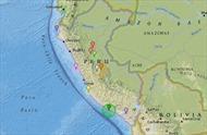 Peru lại hứng chịu trận động đất mới