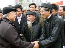 Tổng Bí thư chúc cán bộ, nhân dân huyện Thạch Thất
