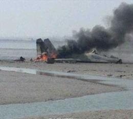 Chiến đấu cơ Trung Quốc rơi, 2 phi công tử nạn
