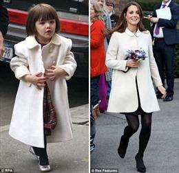 Con gái Tom Cruise chung 'style' với Công nương Kate