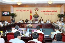 Chất vấn tại phiên họp của Ủy ban Thường vụ Quốc hội