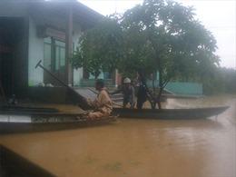 Lũ trên các sông từ Quảng Bình - Quảng Nam liên tục dâng