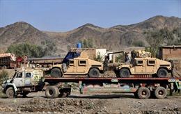 Mỹ tạm ngừng tuyến đường bộ quá cảnh Pakistan