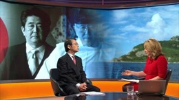Quan chức Trung-Nhật 'đấu khẩu' trên sóng BBC